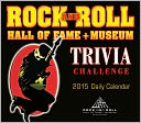 2015 Rock and Roll Hall of Fame Trivia Challenge Box Calendar by Rock & Roll Hall of Fame Museum: Calendar Cover