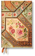 2015 18M Filigree Floral Ivory Mini HOR Planner by Paperblanks: Calendar Cover