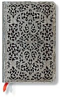 2015 18M Filigree Shadow Mini HOR Planner by Paperblanks: Calendar Cover
