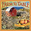 2015 Farm to Table Wall Calendar by Ann Lovejoy: Calendar Cover