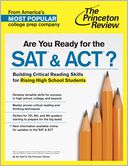 Are You Ready for the SAT & ACT? by Princeton Review: NOOK Book Cover