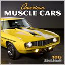 2015 American Muscle Cars Wall Calendar by Randy Leffingwell: Calendar Cover
