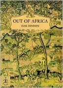 Out of Africa (Modern Library Series) by Isak Dinesen: Book Cover