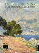 2015 Impressionism Engagement Calendar by Boston The Museum Of Fine Arts: Calendar Cover