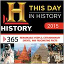 2015 This Day In History Box Calendar by History Channel: Calendar Cover
