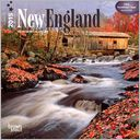 2015 New England Mini Wall Calendar by BrownTrout: Calendar Cover
