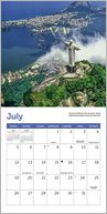 2015 Mini Wonders of the World Calendar by Ziga Media: Calendar Cover