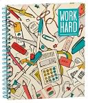 Work Play Spiral Sketchbook 8.5'' x 11'' by Barnes & Noble: Product Image
