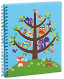 Critter in Tree Spiral Bound Sketchbook 9'' x 11'' by Barnes & Noble: Product Image