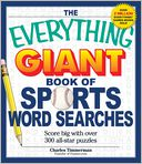 The Everything Giant Book of Sports Word Searches by Charles Timmerman: Book Cover