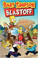 Bart Simpson Blastoff by Matt Groening: Book Cover