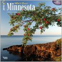 2015 Minnesota, Wild & Scenic Wall Calendar by BrownTrout: Calendar Cover