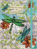2015 Color My World Engagement Planner by Lisa Kaus: Calendar Cover