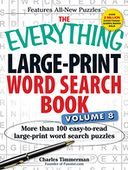 The Everything Large-Print Word Search Book, Volume 8 by Charles Timmerman: Book Cover