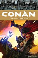 Conan Volume 17 Shadows Over Kush by Fred Van Lente: Book Cover