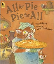 All for Pie, Pie for All by David Martin: Book Cover