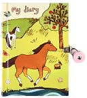 Horse Friends Locked Diary by Galison Books: Product Image