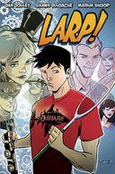 LARP! Volume 1 by Dan Jolley: Book Cover