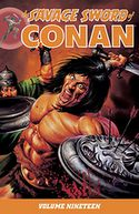 Savage Sword of Conan Volume 19 by Various: Book Cover