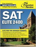 SAT Elite 2400 by Princeton Review: NOOK Book Cover