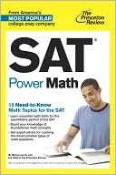 SAT Power Math by Princeton Review: NOOK Book Cover