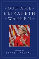 Quotable Elizabeth Warren by Frank Marshall: NOOK Book Cover