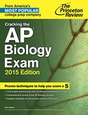 Cracking the AP Biology Exam, 2015 Edition by Princeton Review: NOOK Book Cover
