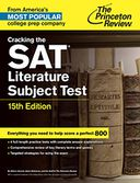 Cracking the SAT Literature Subject Test, 15th Edition by Princeton Review: NOOK Book Cover
