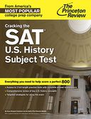 Cracking the SAT U.S. History Subject Test by Princeton Review: NOOK Book Cover