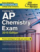 Cracking the AP Chemistry Exam, 2015 Edition by Princeton Review: NOOK Book Cover