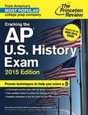 Cracking the AP U.S. History Exam, 2015 Edition by Princeton Review: NOOK Book Cover