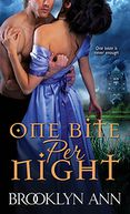 One Bite Per Night by Brooklyn Ann: NOOK Book Cover