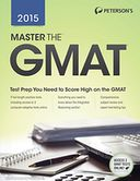 Master the GMAT 2015 by Peterson's: NOOK Book Cover