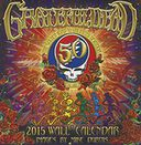 2015 Grateful Dead Wall Calendar by BrownTrout: Calendar Cover