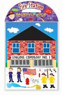 Fire Station Magnetic Flip Book by Dowling: Product Image