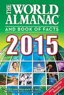 The World Almanac and Book of Facts 2015 by Sarah Janssen: NOOK Book Cover
