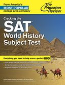 Cracking the SAT World History Subject Test by Princeton Review: NOOK Book Cover