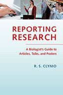 Reporting Research by R. S. Clymo: NOOK Book Cover