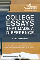 College Essays That Made a Difference, 6th Edition by Princeton Review: NOOK Book Cover