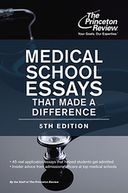 Medical School Essays That Made a Difference, 5th Edition by Princeton Review: NOOK Book Cover