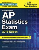Cracking the AP Statistics Exam, 2015 Edition by Princeton Review: NOOK Book Cover