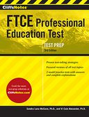 CliffsNotes FTCE Professional Education Test 3rd Edition by Sandra Luna McCune: NOOK Book Cover