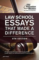 Law School Essays That Made a Difference, 6th Edition by Princeton Review: NOOK Book Cover