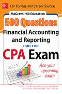 McGraw-Hill Education 500 Financial Accounting and Reporting Questions for the CPA Exam by Frimette Kass-Shraibman: NOOK Book Cover