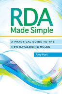 RDA Made Simple by Amy Hart: NOOK Book Cover