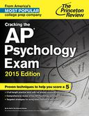 Cracking the AP Psychology Exam, 2015 Edition by Princeton Review: NOOK Book Cover