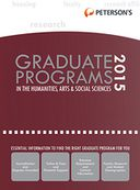 Graduate Programs in the Humanities, Arts & Social Sciences 2015 (Grad 2) by Peterson's: NOOK Book Cover