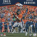 2015 Denver Broncos Wall Calendar by NFL: Calendar Cover