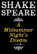 A Midsummer Night's Dream by William Shakespeare: NOOK Book Cover