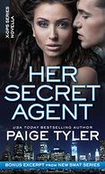Her Secret Agent by Paige Tyler: NOOK Book Cover